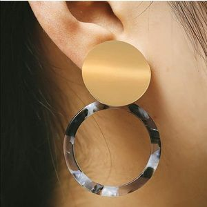 ✨Round Dangle Hoop Earrings✨